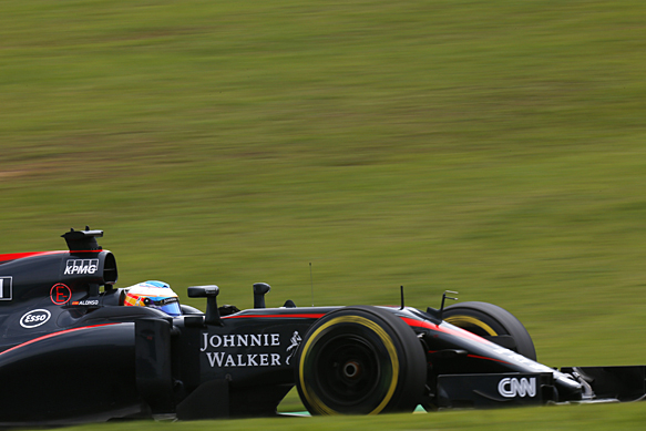 Alonso: McLaren now half 2016 parts