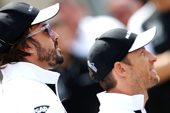 Button: Alonso tougher than Hamilton