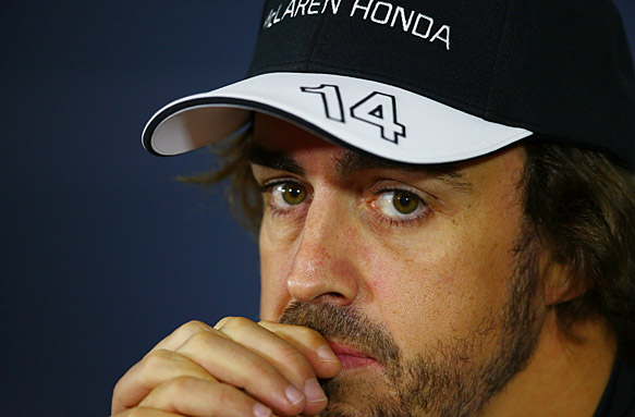 What's going on with Alonso/McLaren?