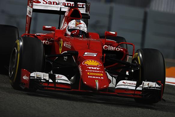 Vettel declares 2015 season a miracle